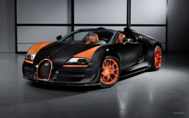 2013 Bugatti Veyron 16 4 Grand Sport Vitesse (click to view)