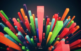 3D Abstract Bars (click to view)