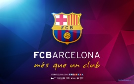FC Barcelona mes que un club Logo  (click to view)