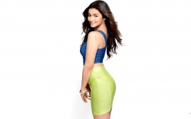 Alia Bhatt Indian Young Girl