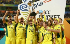 Australia ICC 2015 Cricket World Cup Winners (click to view)