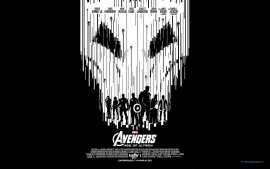 Avengers Age of Ultron Black & White IMAX