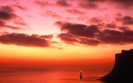 Beachy Head Lighthouse, near Eastbourne, England (click to view)