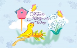 Beautiful Cute Happy Mothers Day
