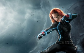 Black Widow in Avengers (click to view)