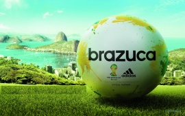 Brazuca Ball Fifa World Cup Brazil