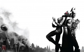 Catwoman and Batman - Arkham City