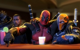 Deadpool with deadshot