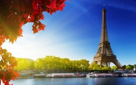 Eiffel Tower lanscape