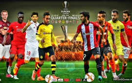 Europa league quarter finals 2016