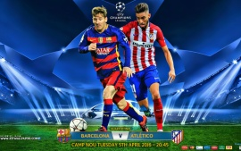 FC barcelona – Atletico madrid champions league 2016