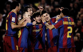 Fc Barcelona Team (click to view)