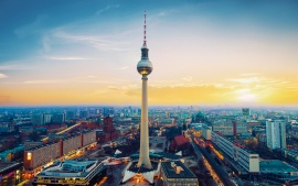 Fernsehturm Berlin TV Tower Germany