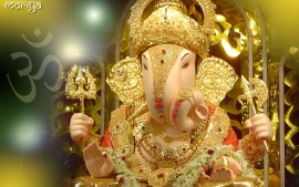 Ganapati Bappa Moriya Full Hd Desktop Wallpaper