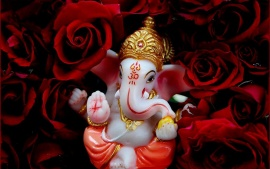 Happy Ganesh Chaturthi Celebrate Beautiful Desktop HD Wallpapers