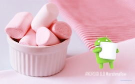 HD Android 6.0 Marshmallow Pink