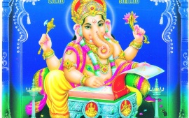 Hindu God Ganpati HD Wallpaper