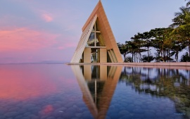 Infinity Chapel Bali Reflection