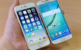 iPhone 6 Plus vs Samsung Galaxy S6 Edge