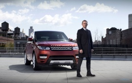 James Bond Range Rover Sport