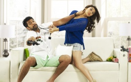 Jayam Ravi And Hansika Motwani In Romeo Juliet