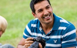 John Abraham Smile HD