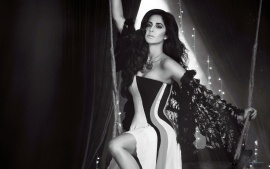Katrina Kaif Latest Actress Photoshoot Wallpaper 2015 Black And White