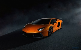 Lamborghini Aventador LP700 4 Orange (click to view)