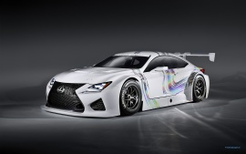 Lexus RC F GT3 Concept (click to view)