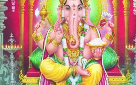 Lord Ganesha Beautiful Wallpapers Free