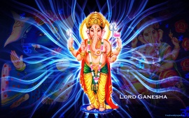 Lord Ganesha HD Artificial Creation Wallpapers