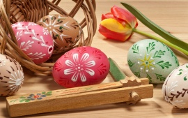 Lovely Painted Easter Eggs
