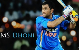 M S Dhoni (click to view)