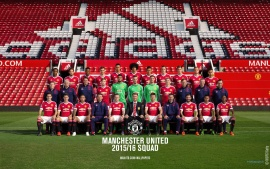 Manchester United 2015-16 Official Squad