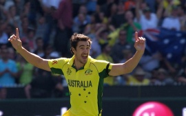 Mitchell Starc (click to view)
