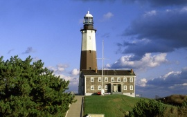 Montauk Lighthouse, Montauk Point, Long Island, New York