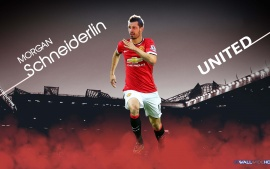 Morgan Schneiderlin 2015 Manchester United