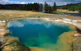 Morning Glory Pool, Yellowstone National Park, Wyoming