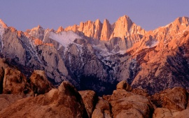 Mount Whitney and Alabama Hills, Sierra Nevada, California