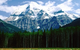 Mt. Robson, Canadian Rockies