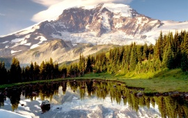 Mystic Tarn, Mount Rainier, Washington