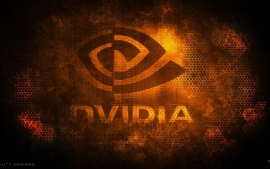 Nvidia Honeycomb Orange Logo