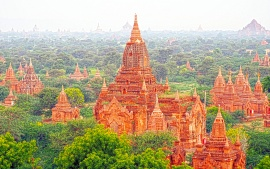 Old Asian Temples Burma (click to view)