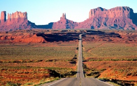 On the Road Again, Monument Valley, Arizona
