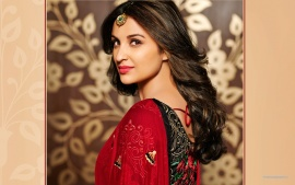 Parineeti Chopra Indian Actress Red Lips Hd Wallpaper