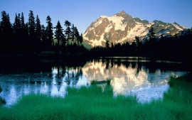 Peak of Summer, Mount Shuksan, North Cascades National Park, Washington