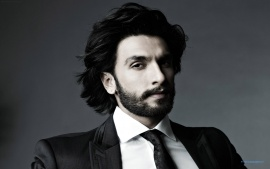 Ranveer Singh Handsome Indian Boy In Beard Wallpaper