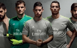 Real Madrid CF 2015-2016 Adidas Away Kit