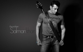 Rockstar Salman Khan With Guitar Dark Light Desktop Beautiful HD