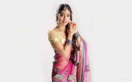 Shriya Saran in Saree